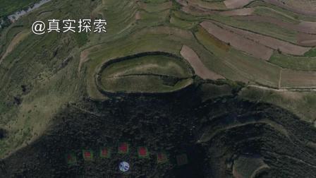 航拍大秦岭25: 山顶的城堡, 甘肃省甘南藏族自治州临潭县冶力关镇堡子山