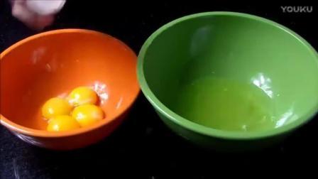 烘焙学习绿茶水果蛋糕, 下午茶就靠它! _标清jh0蛋糕制作