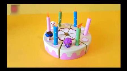 魔术切玩具: 制作美味的草莓蛋糕和鲜花蛋糕