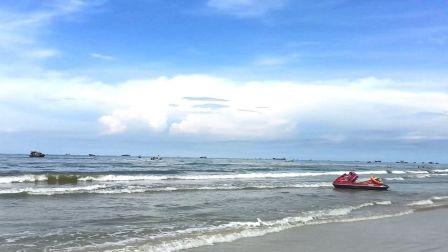 北海海滩公园闻闻海的味道 915