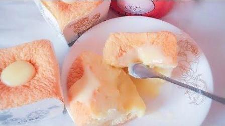 2分钟教你学会北海道戚风纸杯蛋糕, 和下午茶真的很搭配