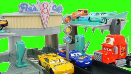 迪士尼 皮克斯 汽车 咖啡店 DISNEY PIXAR CARS 3 Cafe
