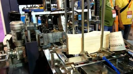 一次性纸杯加工设备生产视频