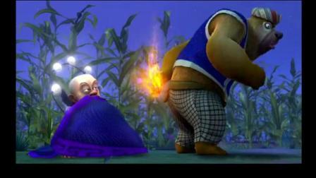 熊出没: 熊二不仅一身熊劲, 随便放个屁就能熏晕天上的神仙