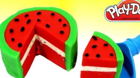 制作冰淇淋的玩具模具之制作蛋糕和汉堡玩具视频78