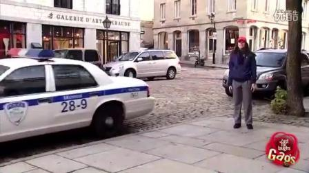 国外整人恶搞 我男朋友把警车给开走了!