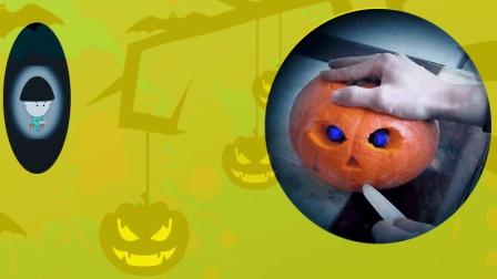 当搞笑动画遭遇万圣节的时候, 我被南瓜怪物逗笑了