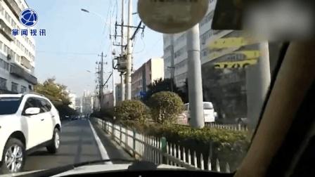老人行走中突然呼吸困难 警车逆行护送安全抵达医院