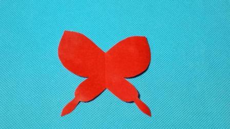 剪纸小课堂600: 剪纸蝴蝶2 儿童剪纸教程大全 折纸王子 亲子游戏