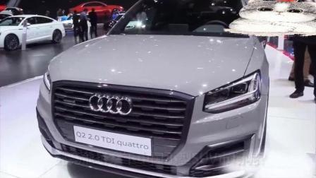 Q2作为奥迪汽车史上最小的SUV汽车, 报价才18万起, 这样亲民的价格你还看什么途观?