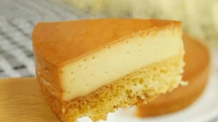 美味食谱: 焦糖布丁海绵蛋糕简单又美味, 这样的甜点孩子抢着吃!
