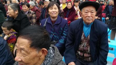 公益活动2017年10月28日下午:老人们过重阳节