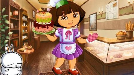 爱探险的朵拉玩具故事 第一季 和朵拉小厨师一起做美味的蛋糕 和朵拉小厨师做美味的蛋糕