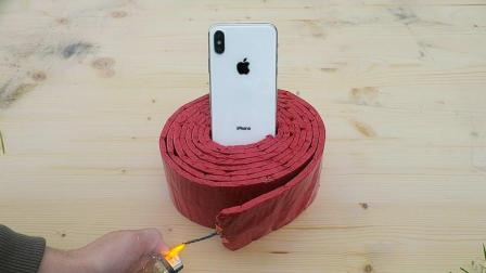 往iPhoneX上围一圈鞭炮, 会发生什么事?