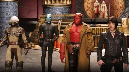 一部动作特效燃爆的好莱坞电影《地狱男爵2黄金军团》, 会中国功夫的精灵王子欲征服人类