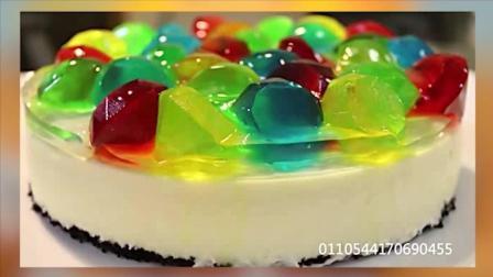 水晶宝石芝士蛋糕, 在家轻轻松松做出五星级酒店宴会甜点, 有孩子的家长一定要注意看哦