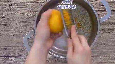 用新鲜的果肉做出香橙果酱, 酸甜可口, 卫生健康, 好吃到没谁了!