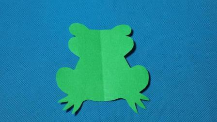 剪纸小课堂602剪纸青蛙 儿童剪纸教程大全 折纸王子 亲子游戏