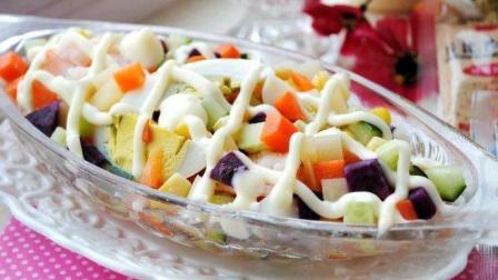 酸奶水果沙拉, 即可以减肥, 又可以在下午茶享用