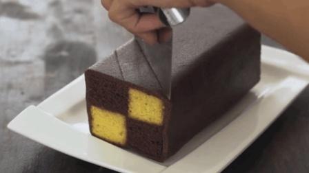 掌握几大要点, 巧克力杏仁巴腾堡棋格海绵蛋糕马上到嘴