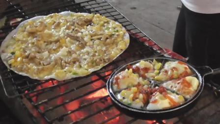 越南风味比萨饼果然非同凡响, 做法比意大利比萨饼接地气多了!