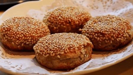刘涛做的老北京麻酱烧饼, 在家做竟这么简单, 又香又酥一次能吃三