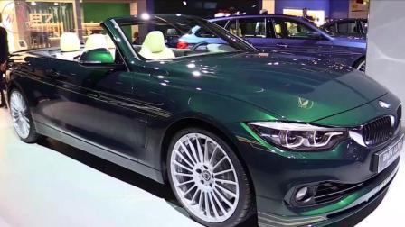 宝马ALPINA B4 S敞篷跑车法兰克福全球首发, 预计售价110万起
