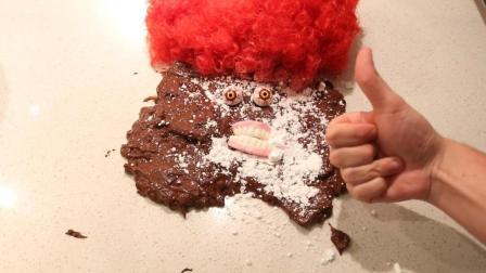 【鸡蛋狂魔】教你制作一个好吃的小丑蛋糕! 这次你赢了