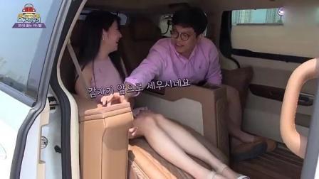 美女客户去试驾商务车, 看看上车后这位男陪同都做了什么