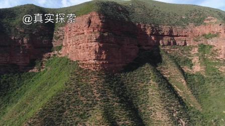 航拍大秦岭26: 冶力关赤壁幽谷, 甘肃省甘南藏族自治州临潭县