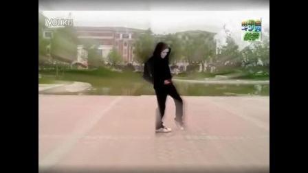 鬼步舞原地踏步教学 中国面具男鬼步舞 鬼步舞滑步教学