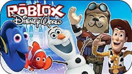 魔哒Roblox虚拟世界 乐高方块带你逛迪斯尼乐园 万圣节鬼屋