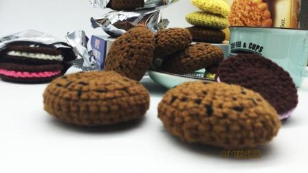馋宝宝吃饼干最后发现是毛线做的, 这妈妈的手艺太好了吧