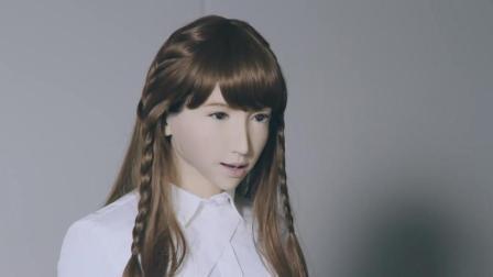 23岁可自然对话的美女机器人, 声音甜美, 表情丰富