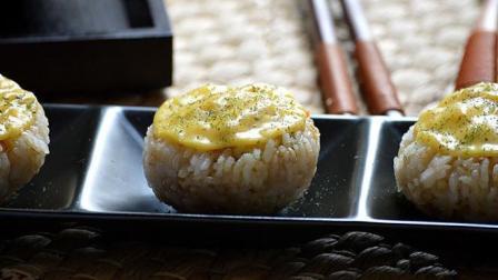 咖喱三文鱼焗寿司做法-光看着就饿了