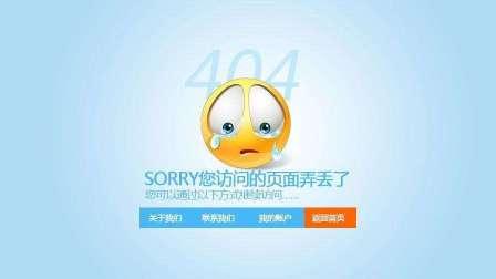 网站优化教程,大多数站长都忽略的404错误页提交与处理!