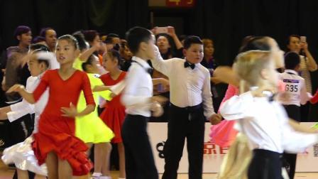 天坛周末10071  业余10岁以下拉丁舞