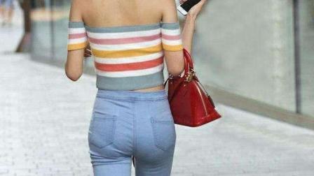 如果女性的臀部过大, 请穿厚质而富有弹性的牛仔裤