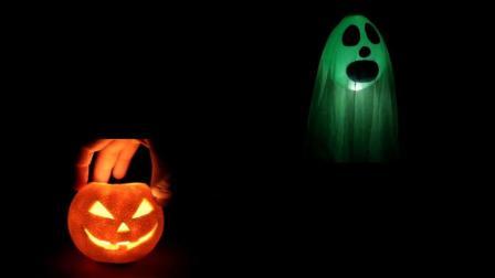 万圣节必须学会, 花3分钟用橙子和气球就能做出南瓜灯和恐怖幽灵