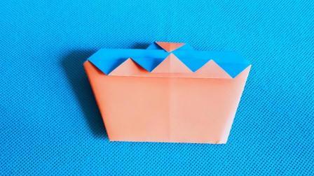 折纸王子教你简单蛋糕, 折纸大全简单又漂亮, 留着教孩子