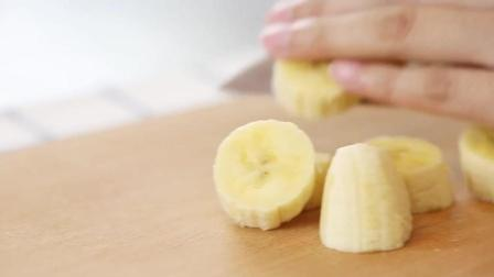 6个月宝宝辅食: 香蕉苹果泥的制作方法, 简单易学, 1分钟就学会