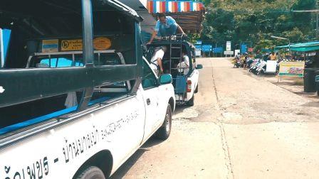 泰国象岛码头出租车随便坐 933