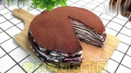 奥利奥千层蛋糕, 不需要烤箱的蛋糕