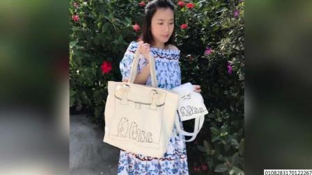 刘銮雄太太怀孕不忘慈善 穿碎花长裙美出新高度 171101