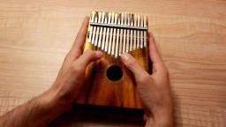 拇指琴卡林巴演奏《天空之城》靠谱吉他蔡宁 靠谱吉他乐器专营店