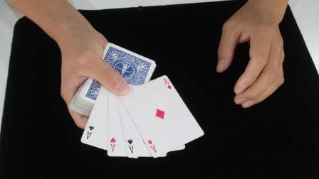 一个可以女生互动的扑克牌魔术, 简单易学!