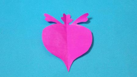 剪纸小课堂606: 剪纸萝卜4 儿童剪纸教程大全