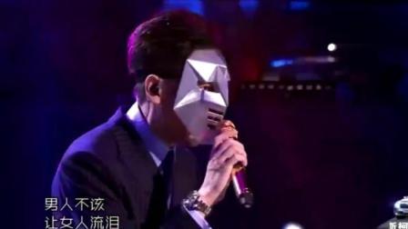 《蒙面歌王》歌手一开口评委都难以置信, 看眼睛就猜到是谁了!