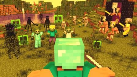 大海解说 我的世界Minecraft 原版生存无尽黑夜求生