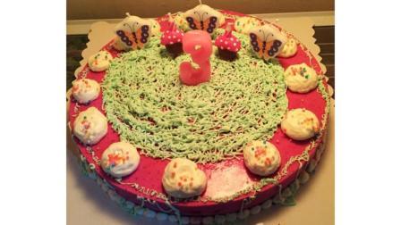 丑萌蛋糕系列之火龙果慕斯, 家庭做法均适合手残党烘焙初学者